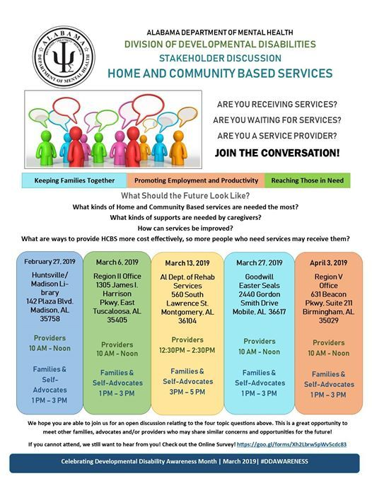 Home and Community Based Services Discussion-Birmingham