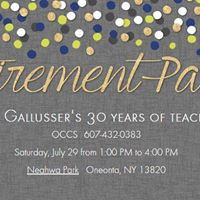 Kathy Gallussers Retirement Party