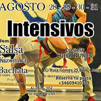 Intensivos de Latinos &amp Kizomba (Avils)