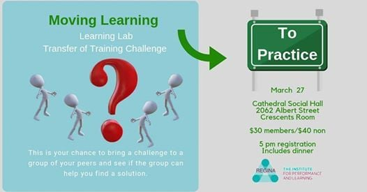 Learning Lab - Transfer of Training Challenge at Cathedral