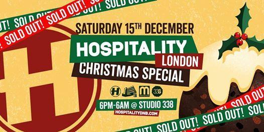 Hospitality London Christmas Special