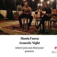 Hania Fansa _ Acoustic night