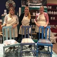 Annie Sloan Complete chair makeover