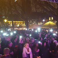 Lichtjesavond op de Beestenmarkt in Delft