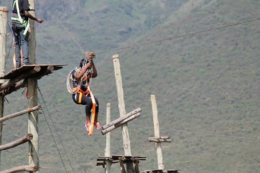 ZIP LINING HIGH ROPES CHALLENGE & TEAM BUILDING AT KISAMES