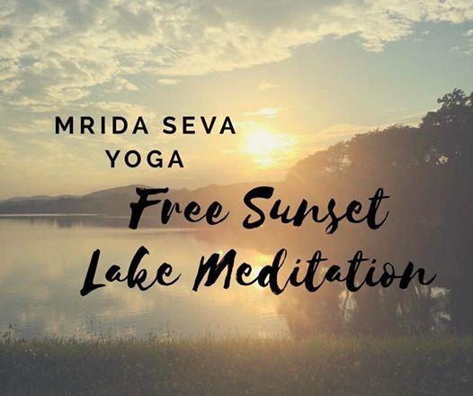 FREE cOMmUNITY Sunset meditation