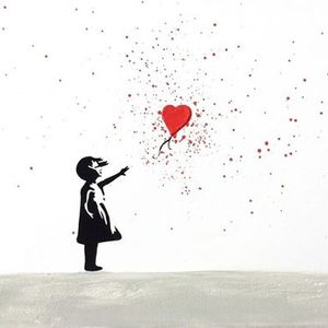ArtNight Paint Like Banksy - Mdchen Mit Ballon am 30062019 i