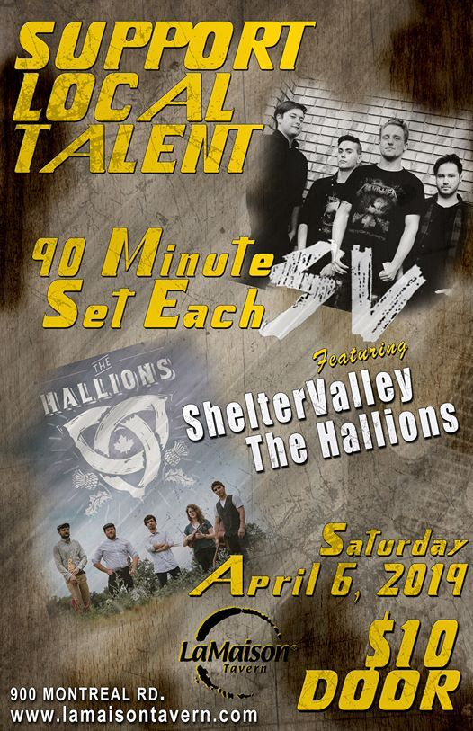 ShelterValley And The Hallions