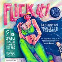 Flick It (Pride Edition) - Badminton Doubles Tournament