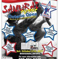 EWK Samurai Classic Ontario Open  Martial Arts Tournament