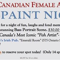Great Canadian Female Anglers &quotPaint Night&quot