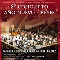 Concierto Ao Nuevo 7 Enero