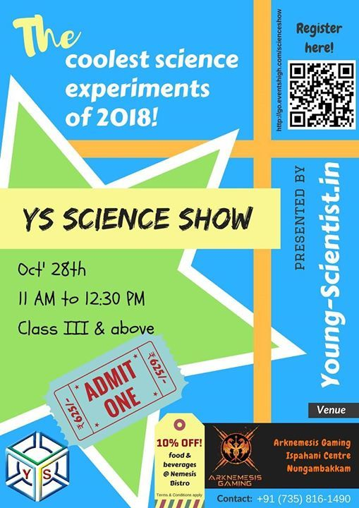 YS Science Show