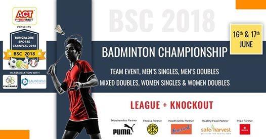 Adult Badminton Championship - BSC18