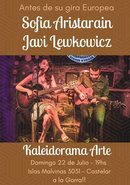 Sofia Aristarain y Javi Lewkowicz - Canciones en Kaleidorama