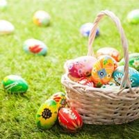 Cherry Blossom Easter Egg Hunt