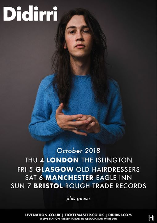 Didirri  Live at Rough Trade Bristol - Free Entry