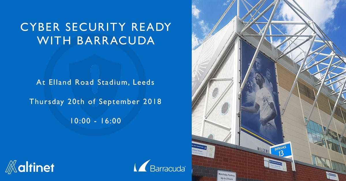 Cyber Security Ready with Barracuda