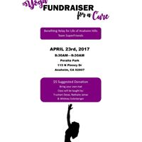 Yoga Fundraiser for a Cure