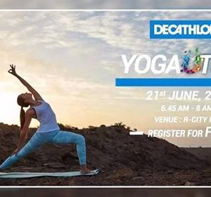 Yoga Utsav at R City Mall