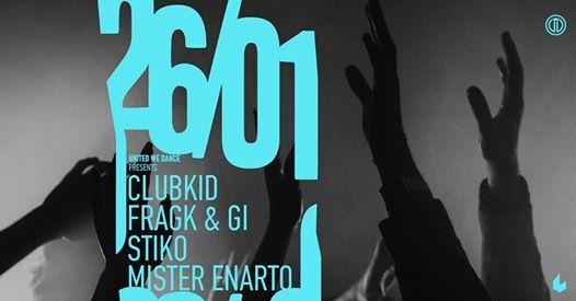 United We Dance w Clubkid Fragk&Gi Stiko Enarto at six dogs