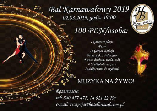 Bal Karnawaowy 2019