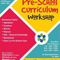 Pre-School Curriculum Workshop  Pune