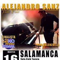 Fran Valenzuela como Alejandro Sanz en Concierto