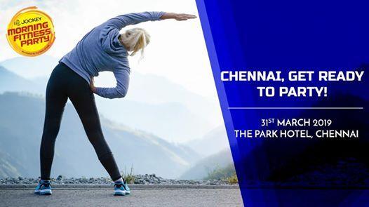 Chennai Jockey Morning Fitness Party