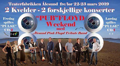 Aalesund Pink Floyd Tribute Band -PUB FLOYD