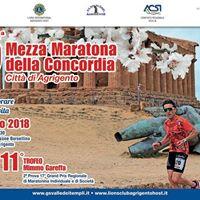 15 Mezza Maratona della Concordia Citt di Agrigento