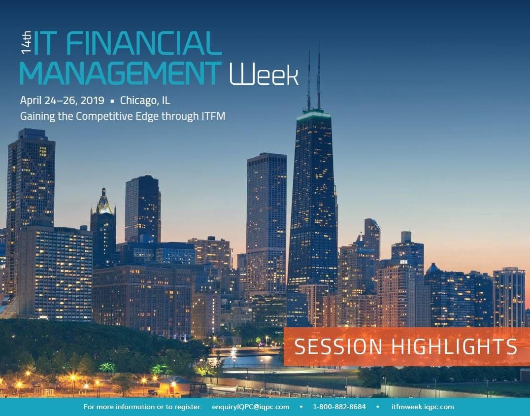 14th Annual IT Financial Management Week