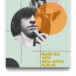 Magic Bus - Psychedelic Rock mit J. Alicka