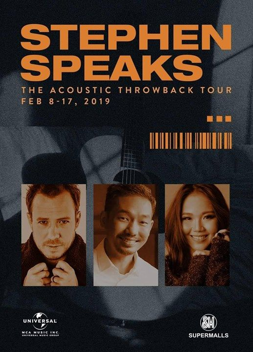 Acoustic Throwback Tour 2019