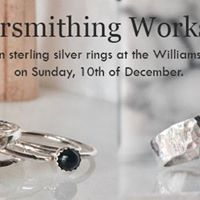 Silversmithing at The Williamson Art Gallery
