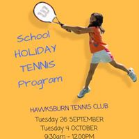 Hawksburn School Holiday Program