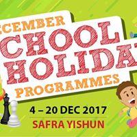 December School Holiday Programmes