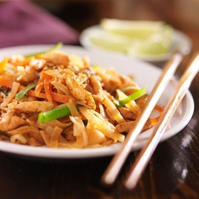 Pad Thai &amp Spring Rolls with Chef Char