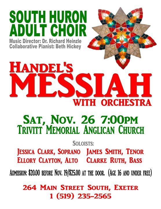 Handel S Messiah Kitchener