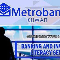 METROBANK IN KUWAIT BANKING AND FINANCE SEMINAR