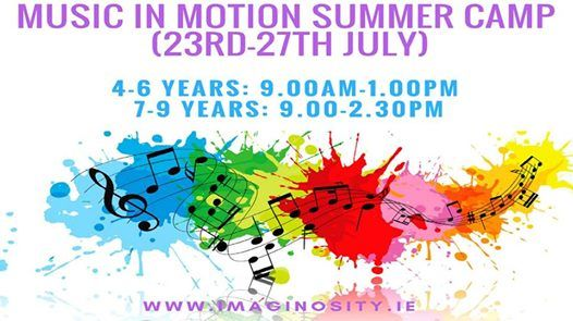 Music in Motion Summer Camp at Imaginosity