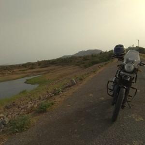 Ride to Guhai Dam
