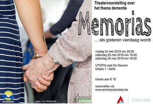 Theater- en muziekvoorstelling Memorias 24 en 25 Mei