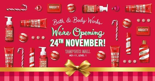 Bath & Body Works LOVES Tampines Mall, Singapore at Tampines