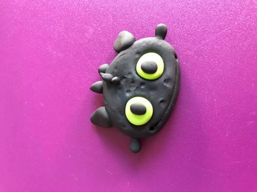 JumpingCLAY Toothless Magnet