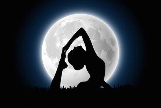 Full Buck Moon Flow at Happy Dog Yoga Studios, Michigan