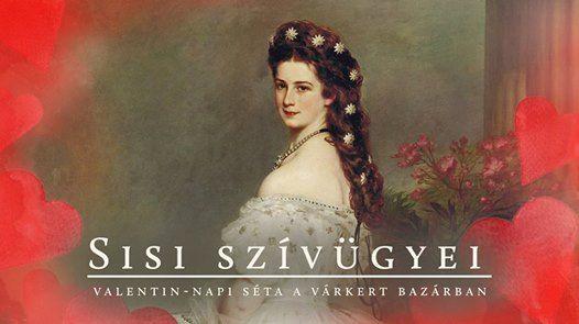 Sisi szvgyei - sta a Vrkert Bazrban