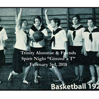 Trinity Alumnae &amp Friends Spirit Night &quotGimme a T&quot