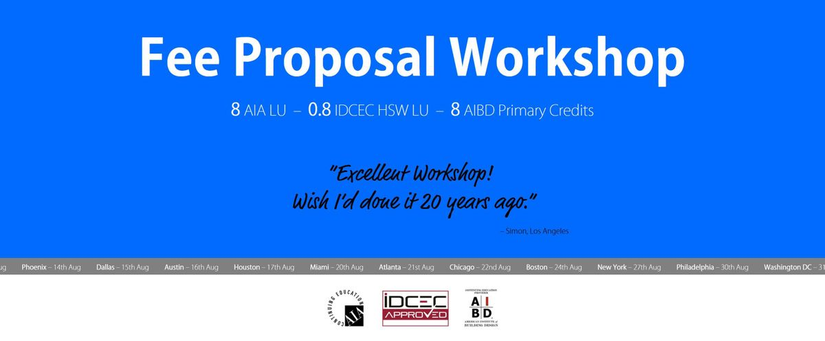 Austin Fee Proposal Workshop