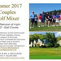 Summer 2017 Couples Golf Mixer